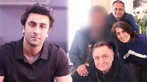 Ranbir Kapoor Best Friend Meets Rishi & Neetu Kapoor In New York [Video]