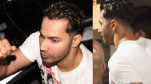 Varun Dhawan STYLISH New Look For Coolie No.1 With Sara Ali Khan [Video]