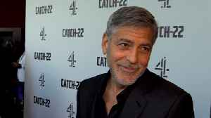 George Clooney on 'Catch-22' [Video]