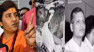 Sadhvi Pragya says Nathuram Godse was a Patriot | Oneindia News [Video]