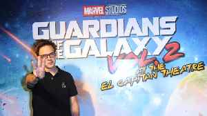 James Gunn's 'Guardians of the Galaxy' split was like his divorce [Video]