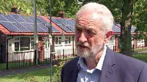 Corbyn announces plans to tackle climate crisis [Video]