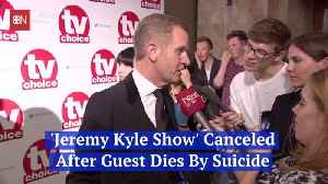 Jeremy Kyle's Show Is Over And The Reason Is Serious [Video]