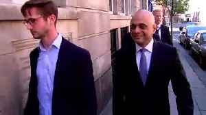 Sajid Javid refuses to comment on Tory leadership bid [Video]