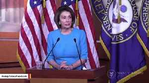 Pelosi To Trump On Iran: Constitution Gives Responsibility To Congress To 'Declare War' [Video]