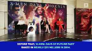 'X-Men: Dark Phoenix' On Pace for $50 Million Opening Weekend [Video]
