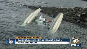 San Diego man killed in Alaska plane crash [Video]