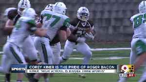 Star Roger Bacon RB Corey Kiner knows 'high school is bigger than sports' [Video]