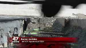 MDOT Fixing I-69 joint failure [Video]