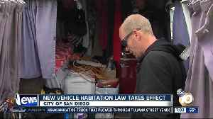 New SD vehicle habitation law takes effect [Video]