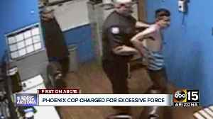 Phoenix police officer to be charged for hitting suspect [Video]