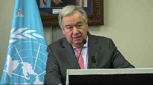 'As a grandfather, this is the battle of my life,' UN Secretary General on climate change [Video]