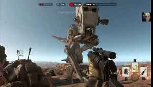 Star Wars: Battlefront the survival mode in desert [Video]
