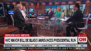 CNN's John Avlon Mocks Bill de Blasio's presidential bid [Video]