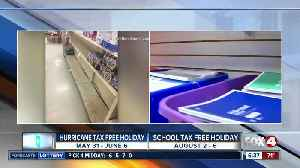 Sales tax holidays planned this summer in Florida [Video]