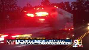 10-year-old hurt in hit-and-run [Video]