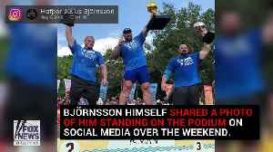 News video: 'Game of Thrones' 'The Mountain' named World's Strongest Man
