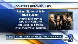 Rolling Stones announce new date for Denver tour stop [Video]