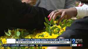 Giant Food florists create Preakness victory blankets [Video]