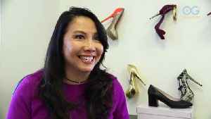 Immigrant Doctor Designer Donates Shoes [Video]