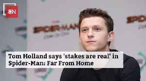Tom Holland Talks About His Latest Spider-Man Movie [Video]