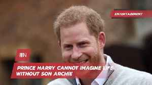 Prince Harry Steps Completely Into Father Role [Video]