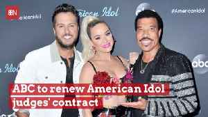 American Idol Judges Are Here To Stay [Video]
