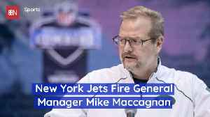 The Jets GM Is Gone [Video]