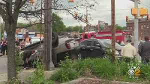 Four People, Including Two Toddlers, Hurt In New Castle Crash [Video]