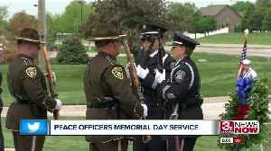 Peace Officers Memorial Day Service [Video]