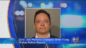 Ald. Joe Moreno Charged With Filing False Police Report [Video]