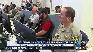 Baltimore County conducts severe storm exercise [Video]