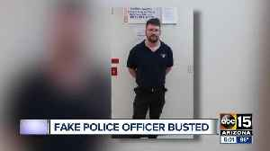 DPS Sergeant catches man impersonating Mesa police officer [Video]
