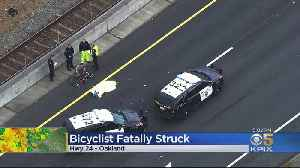 Cyclist Fatally Struck On Hwy 24 Off-Ramp In Oakland [Video]
