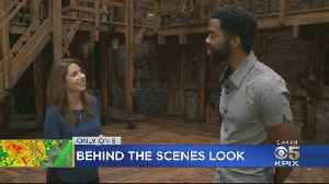A Rare Behind-The-Scenes Look Onstage, Backstage With Stars Of Hamilton [Video]