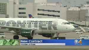 Flight Attendants' Union At Frontier Ratifies New Contract [Video]