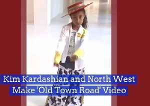 News video: North West Likes 'The Old Town Road'
