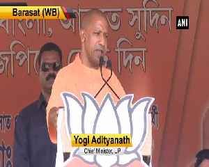 Attack on Amit Shah's roadshow is final nail in TMCs coffin CM Yogi [Video]
