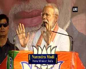 WB will help BJP cross 300, says Modi; accuses Mamata of inciting violence [Video]