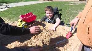 Michigan Students Build Custom Sandbox for Boy in Wheelchair [Video]