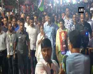 Mamata holds roadshow in protest against roadshow violence [Video]