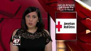 Red Cross warns of 'critical' type O blood shortage [Video]