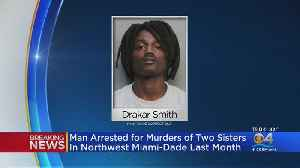 Arrested Made In Drive-By Murders Of South Florida Sisters [Video]