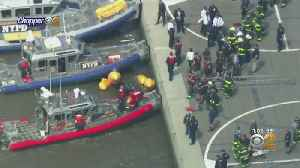 Ferry Crew Rescues Pilot From Hudson Helicopter Crash [Video]