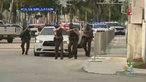 South Florida Law Enfocement Holds 'Operation Heat Shield III' To Train For Terror Attacks [Video]