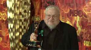 George R.R. Martin shuts down rumours he's done with 'Game of Thrones' books [Video]