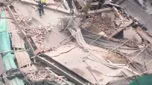 News video: Seven killed after building collapsed in Shanghai