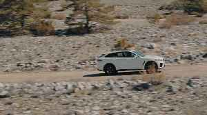 The Jaguar F-PACE SVR 550PS AWD in Fuji White Design [Video]