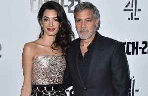 George Clooney 'hopes' to see royal baby while in London [Video]