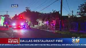 1-Alarm Fire Damages Mexican Restaurant In Uptown [Video]